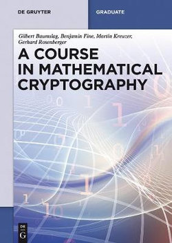 Mathematical Cryptography