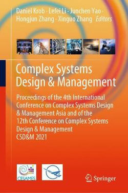 Complex Systems Design and Management