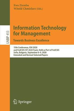Information Technology for Management: Towards Business Excellence