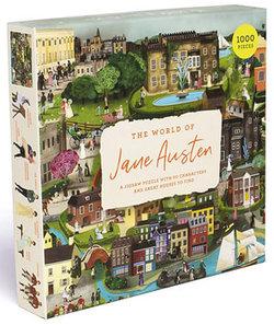 The World of Jane Austen: 1000-Piece Jigsaw Puzzle