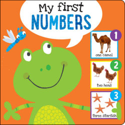 I'm Learning My Numbers! Board Book