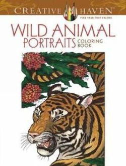 Creative Haven Wild Animal Portraits Coloring Book