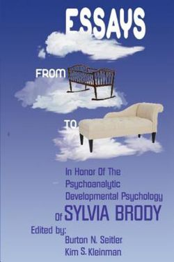 Essays from Cradle to Couch