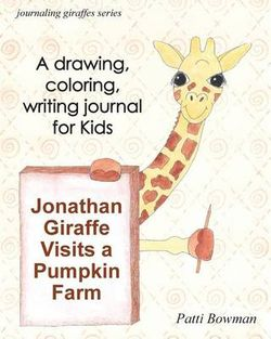 Jonathan Giraffe Visits a Pumpkin Farm