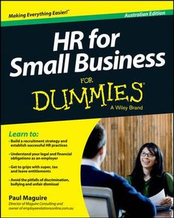 HR For Small Business For Dummies - Australia