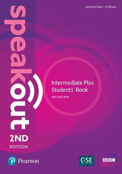 Speakout Intermediate Plus 2nd Edition Students' Book and DVD-ROM Pack