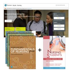 Kozier and Erb's Fundamentals of Nursing + Nursing Student's Clinical Survival Guide + MyLab Nursing