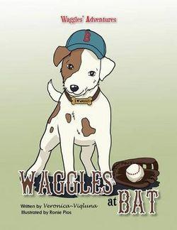 Waggles at Bat