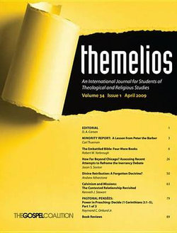 Themelios, Volume 34, Issue 1