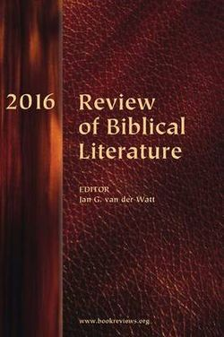 Review of Biblical Literature 2016