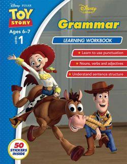 Toy Story Grammar Learning Workbook