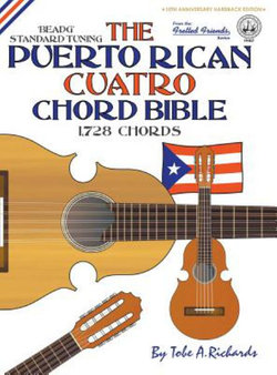 The Puerto Rican Cuatro Chord Bible