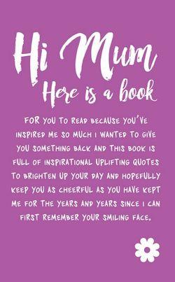 Hi Mum