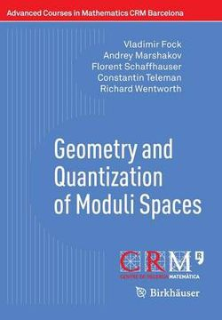 Geometry and Quantization of Moduli Spaces
