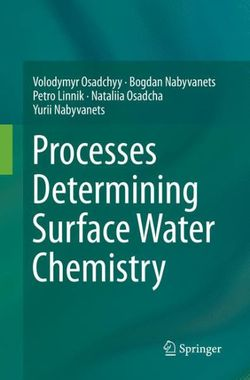 Processes Determining Surface Water Chemistry