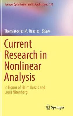 Current Research in Nonlinear Analysis
