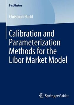 Calibration and Parameterization Methods for the Libor Market Model