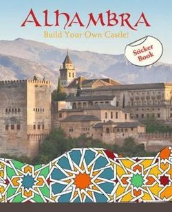 Alhambra: Create Your Own Palaces! Sticker Book