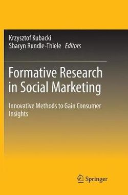 Formative Research in Social Marketing