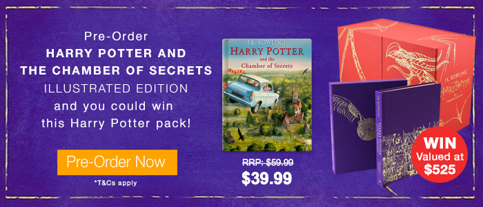 Win A Limited Edition Harry Potter Pack